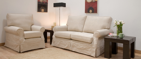 Loose Cover Sofa & Loose Cover Armchair